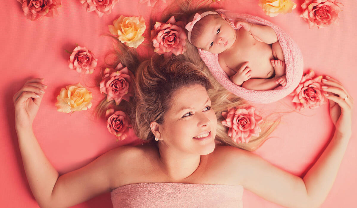 Ensaio Newborn de Luciana e Maria Eduarda