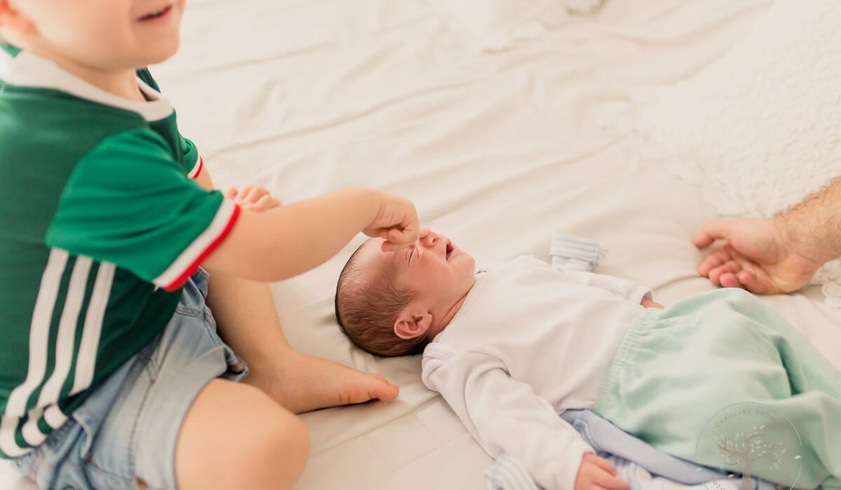 Newborn Lifestyle de Rafael - 10 dias