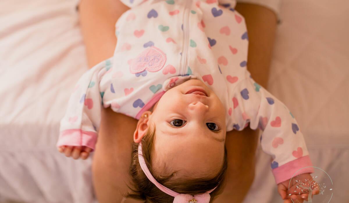 Acompanhamento de bebês de Maria - 3 meses