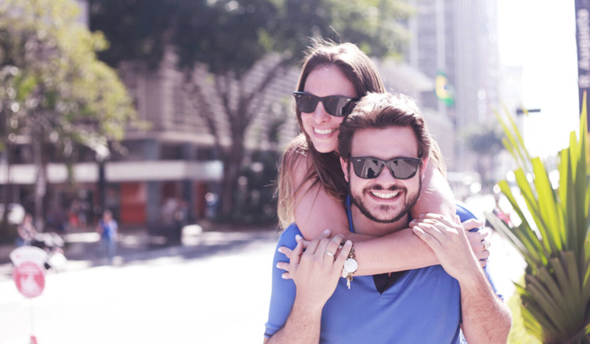 Adriana e André de Ensaio | Pré-Wedding