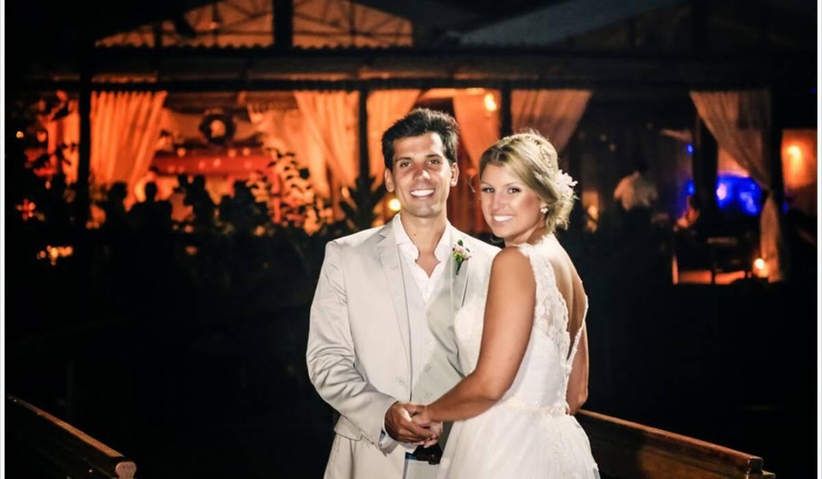 Amanda e Rodrigo de Casamento na Praia