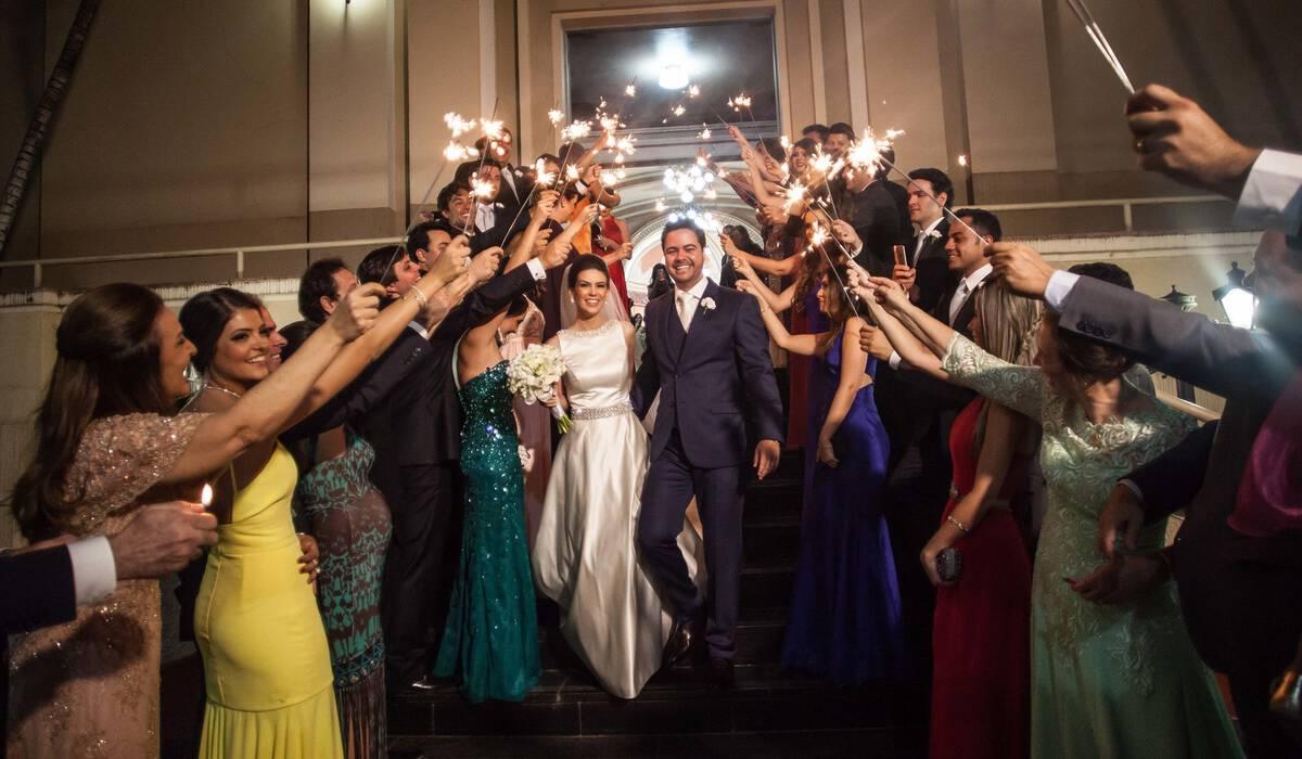 Casamentos de Laura Delalibera Mangucci e Rogério Carneiro Rodrigues