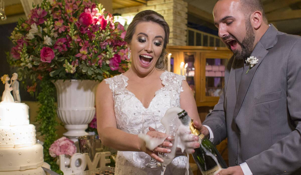 Casamentos de Alessandra e Flávio