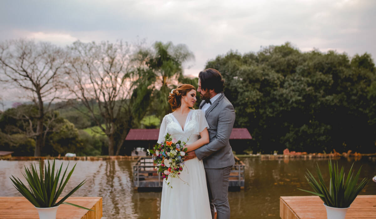 Editorial de Destination Wedding no Campo