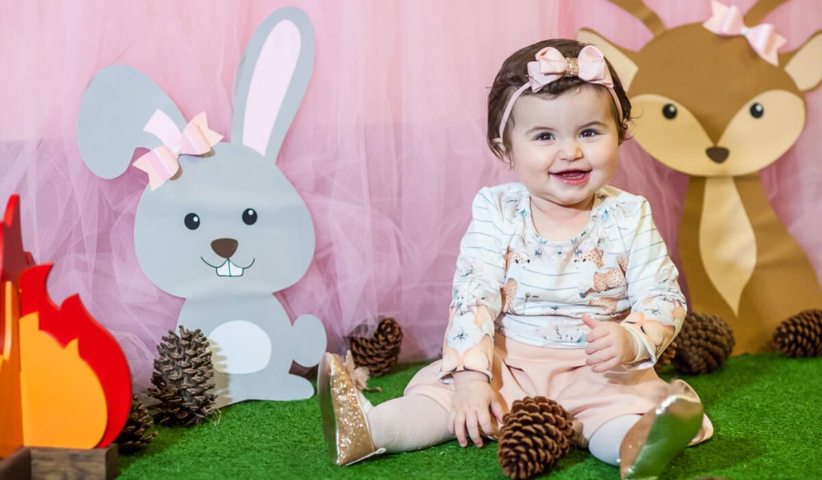 Aniversário Infantil de Isabela 1 Ano