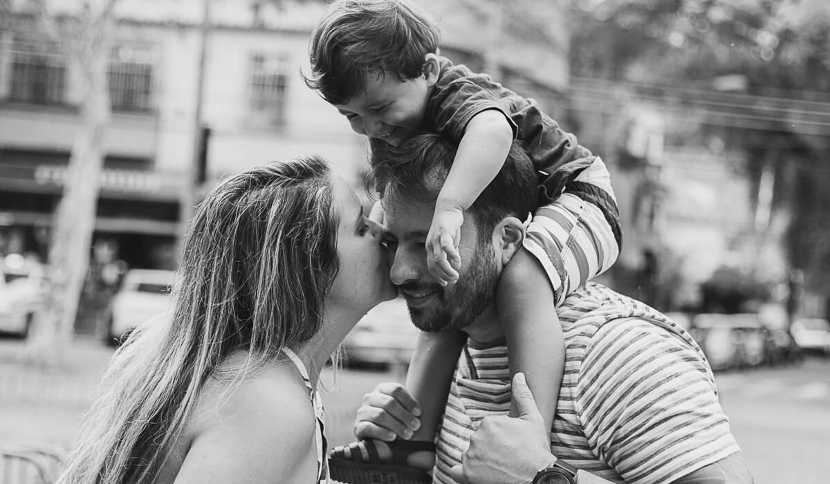 Ensaio Família Irene, Rodrigo e Pedro de