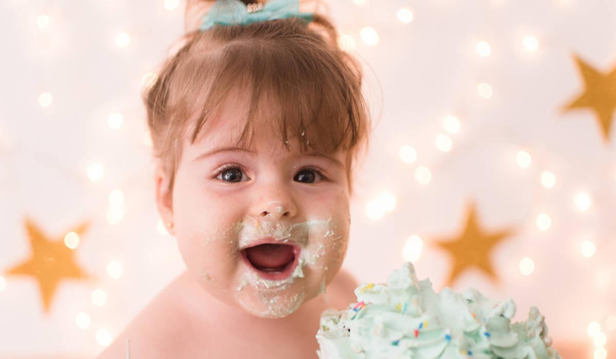 Cake Smash de Vivian - 1 aninho