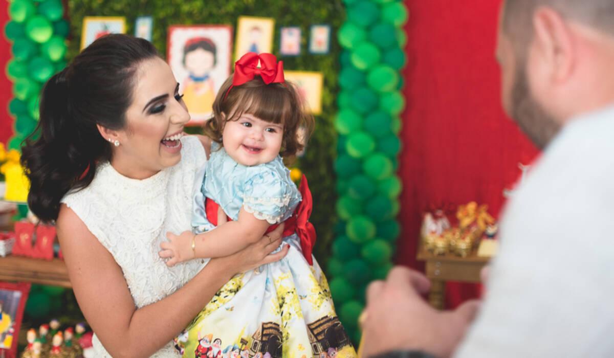 Aniversário Infantil de Vivian 1 aninho