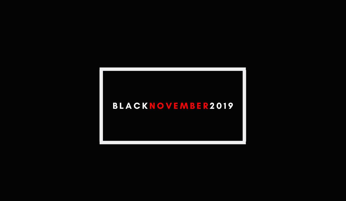 BLACK NOVEMBER 2019 de Descontos imperdíveis