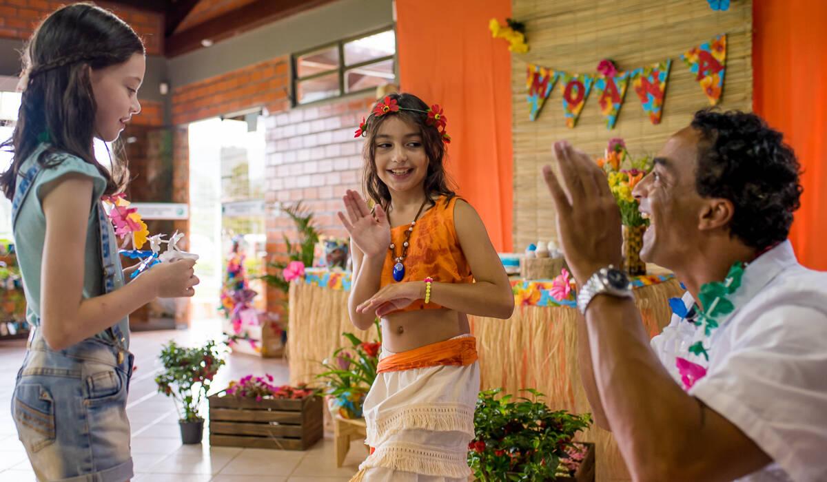 Festa Infantil de 8 anos Moana