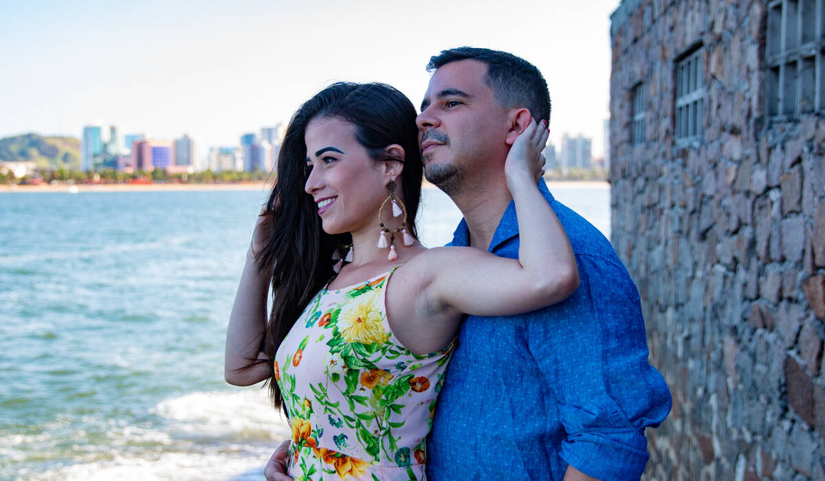 Ensaio de Casal de Carla e Pedro