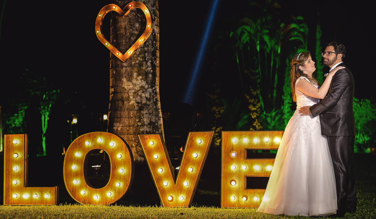 Casamento de Patricia e Elton
