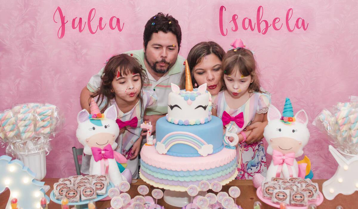FESTA INFANTIL de Isabela e Júlia