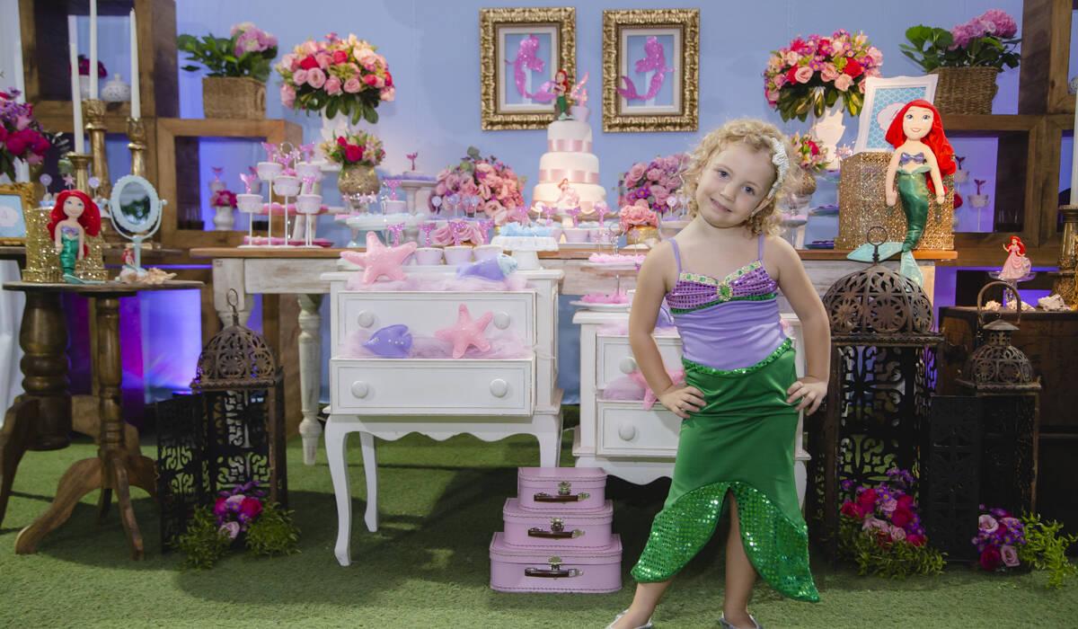 FESTA INFANTIL de Linda Sereia