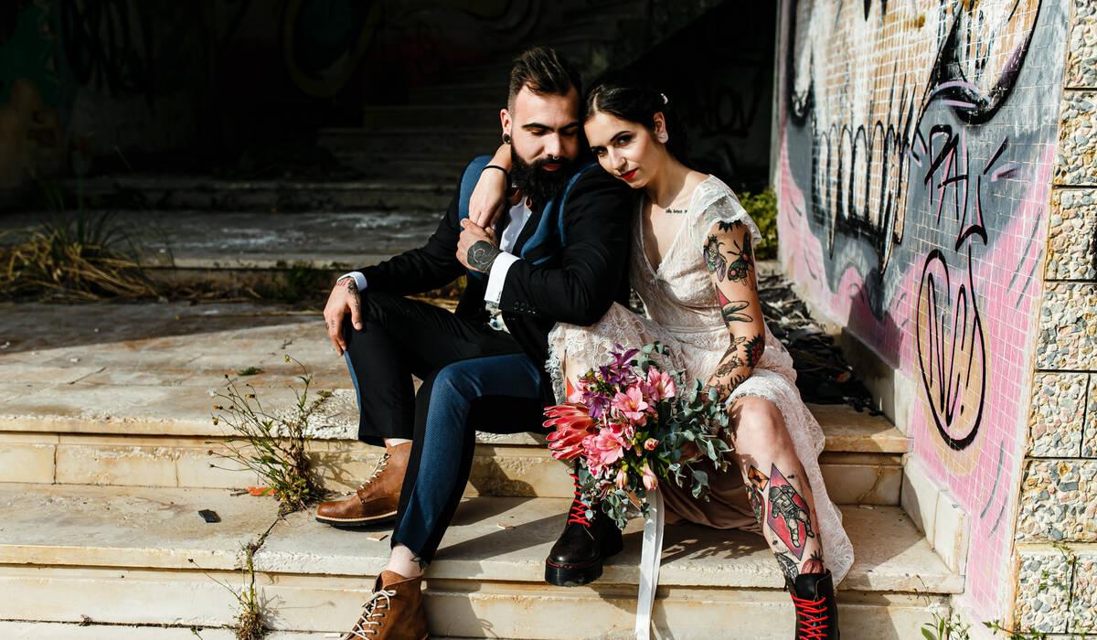 Casamento Alternativo de Ariana e Nuno