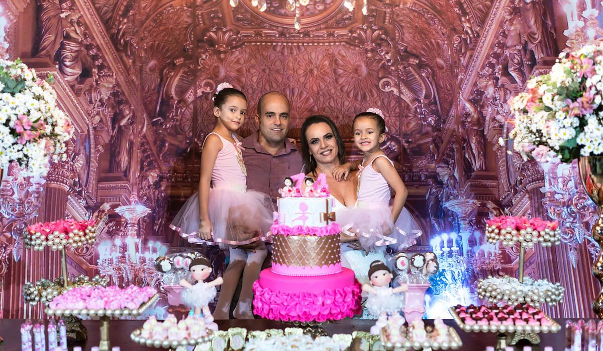 Aniversário de Isabela e Alice