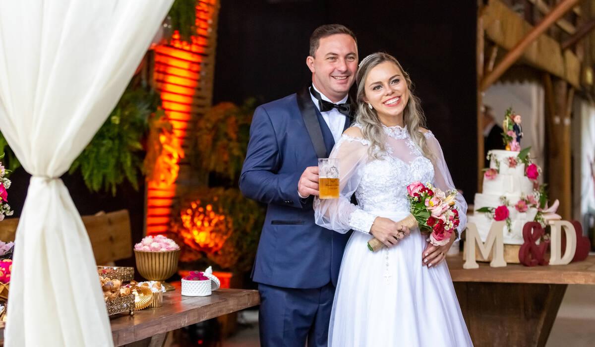 Casamento de Daiana e Marcelo