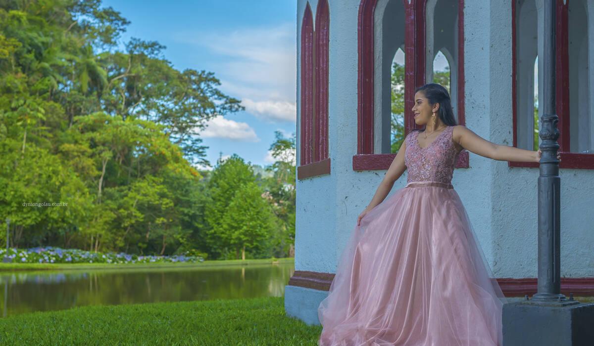 Ensaio Debutante de Maria Eduarda