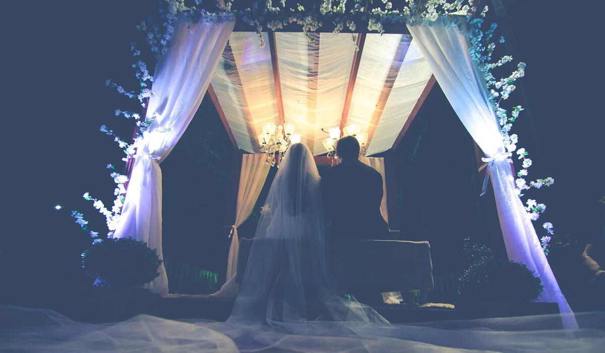 Casamento ao ar livre de Gabriela e Daniel