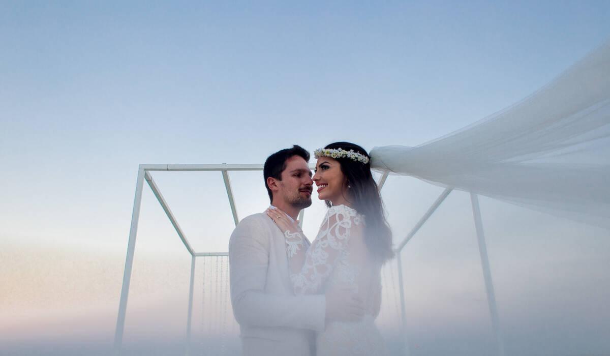 Casamento de Camila e Léo