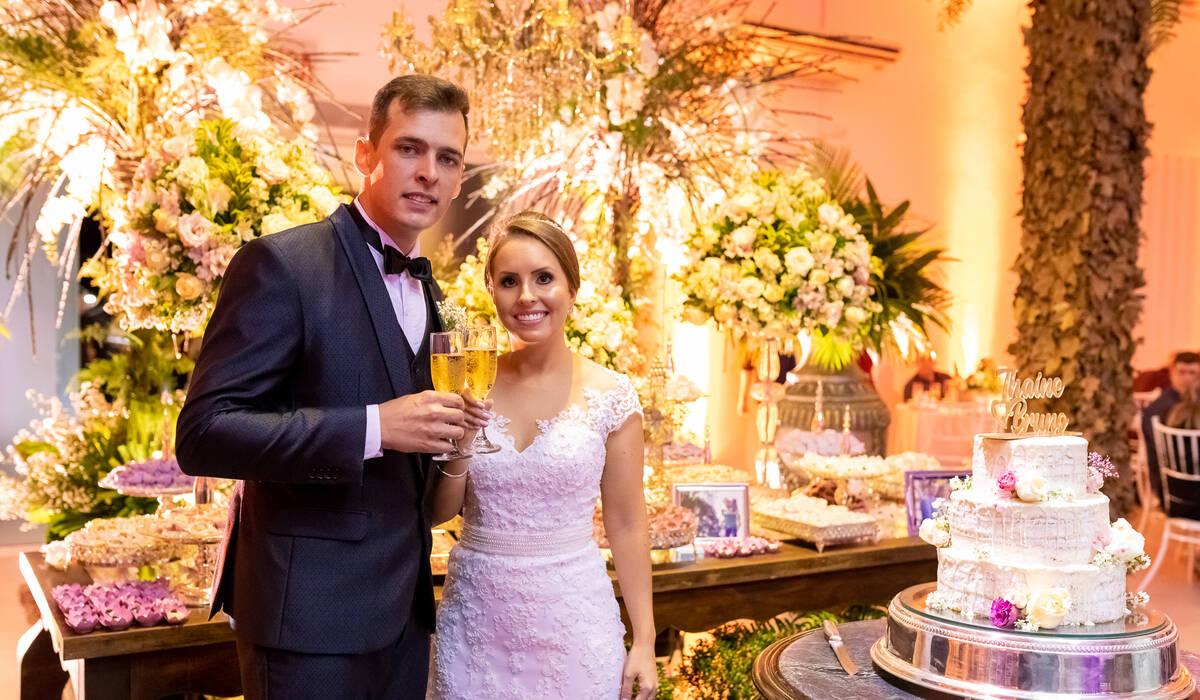 Casamento de Thaine e Bruno