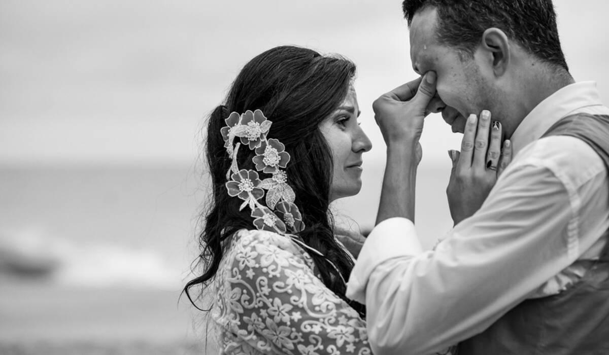 casamento na praia de Lu & Ju