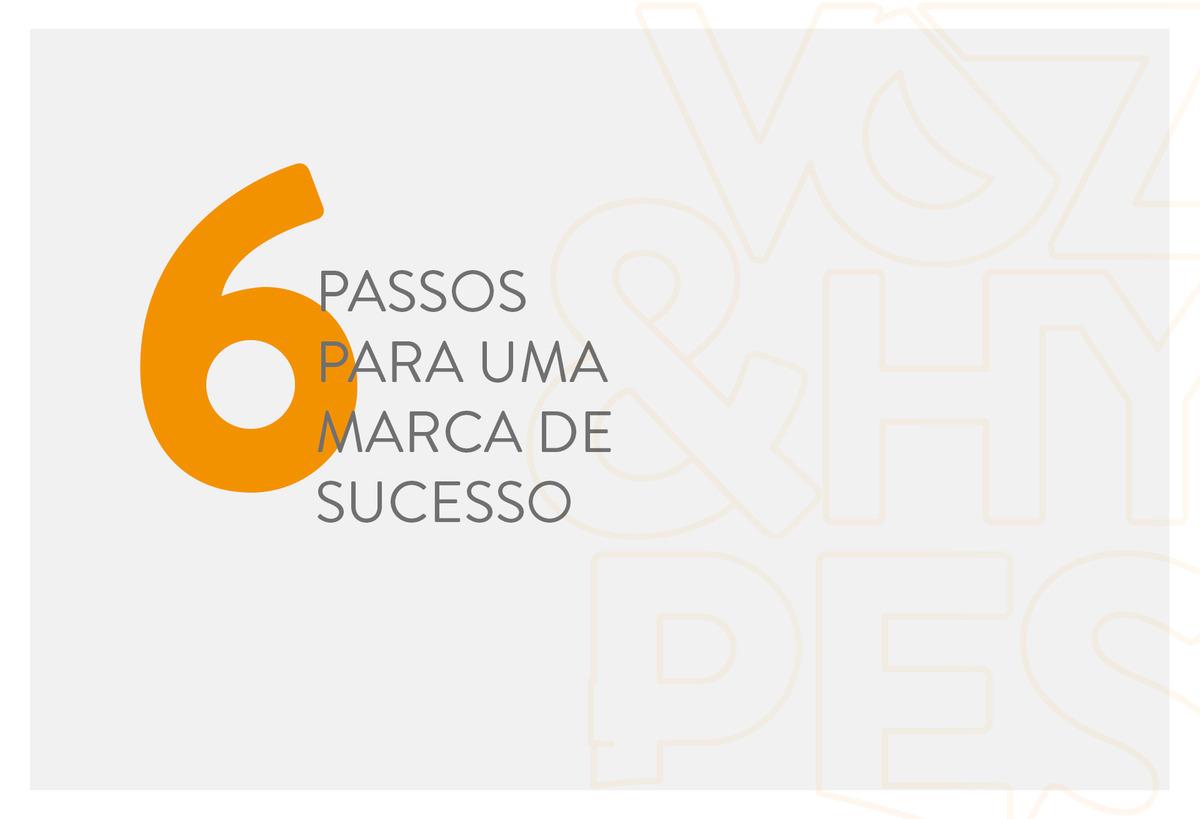 Imagem capa - 6 passos para uma marca de sucesso por Voz & Hypes