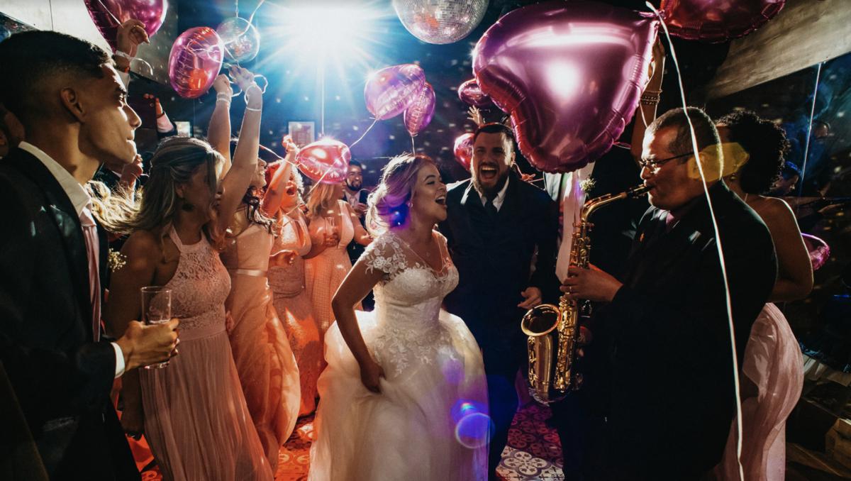 recepção de noivos em casamento no rio de janeiro