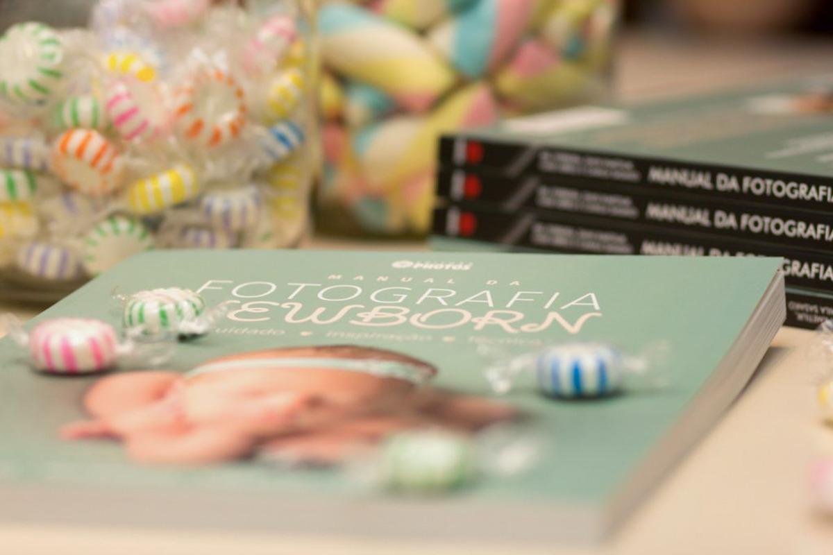Imagem capa - Lançamento do livro - Manual da Fotografia Newborn por Bel Ferreira