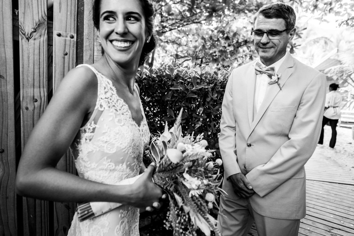 noiva e pai making of casamento gringo brasileira e americano destination wedding