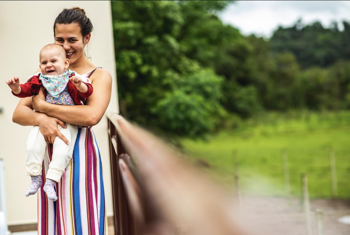 mãe e filha making of do casamento fotógrafo rafael bigarelli