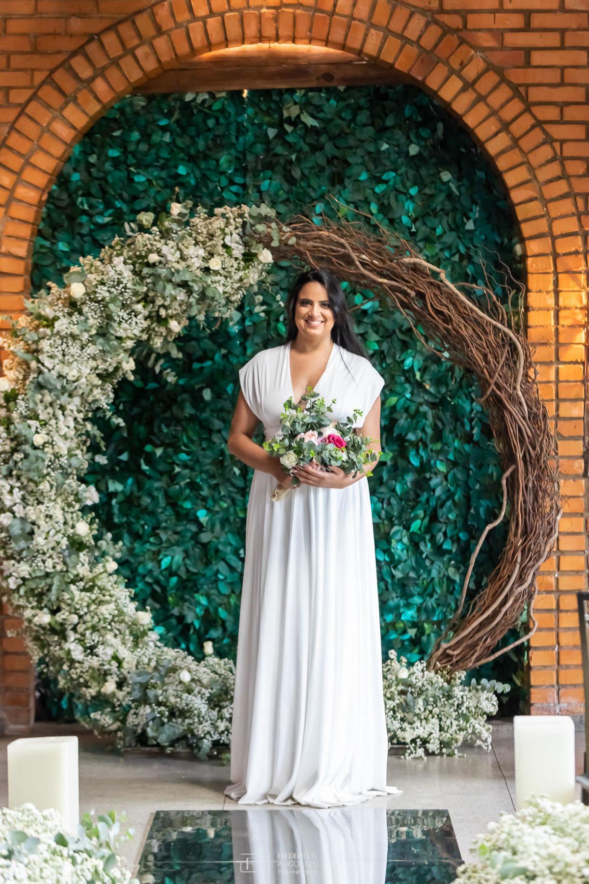 Renata no pré casamento