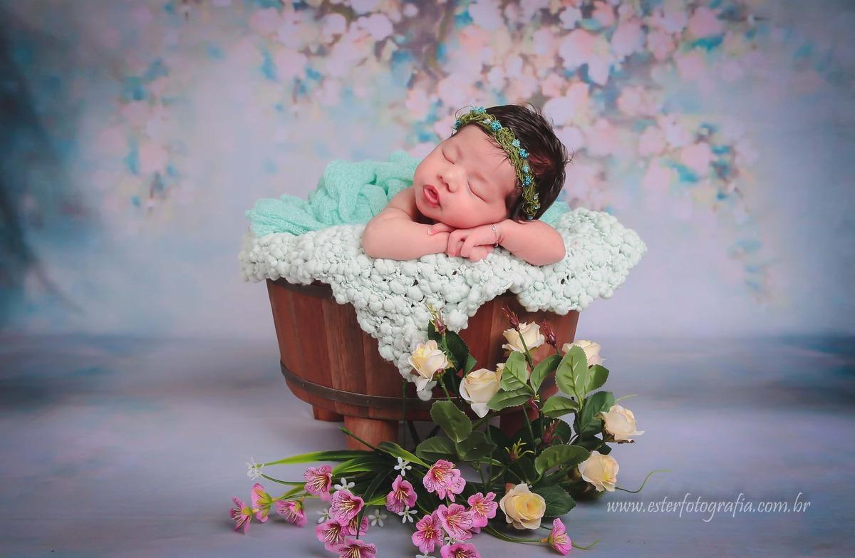 Imagem capa - Ensaio Newborn  por Ester Angelini