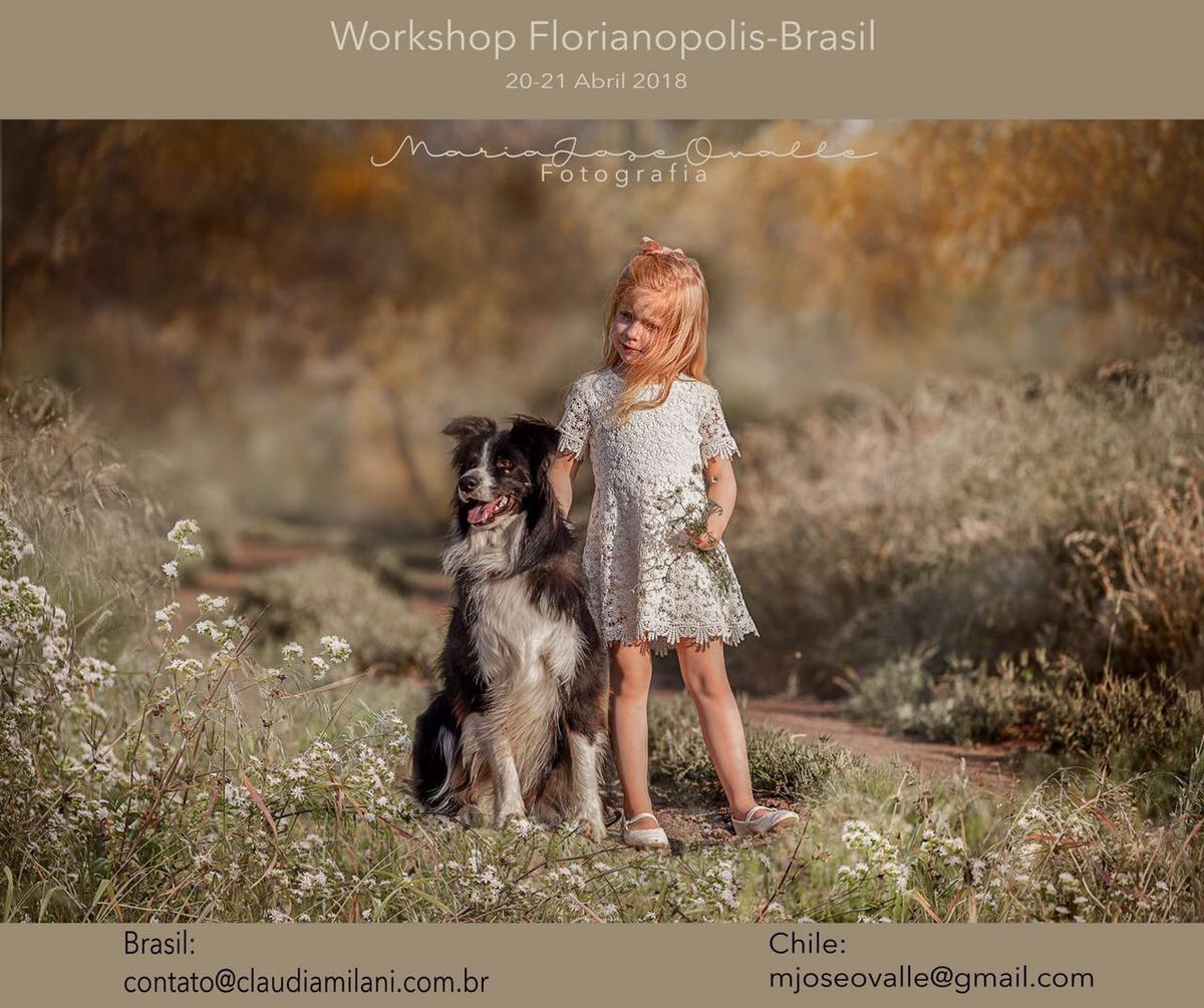 Imagem capa - Workshop Fotografia Infantil com María José Ovalle por Claudia Milani Fotografia