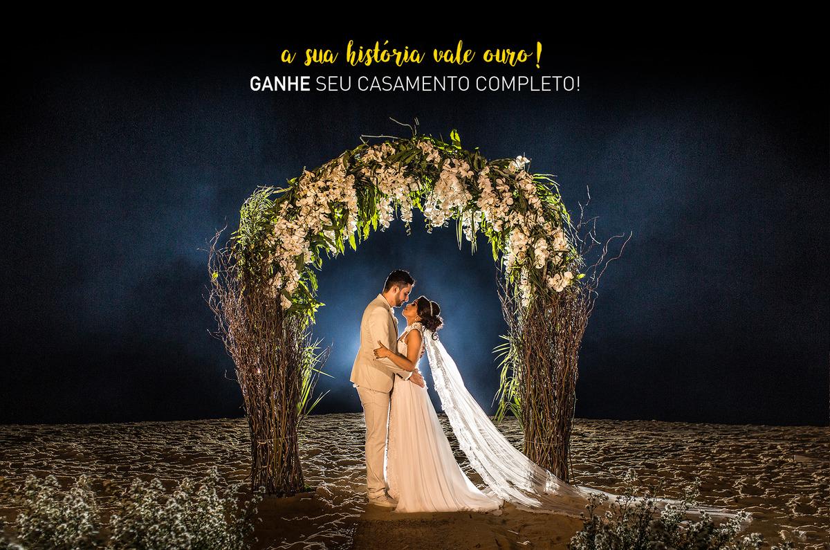 Imagem capa - Sua história vale ouro - Ganhe seu casamento completo por Flávio Alvarenga