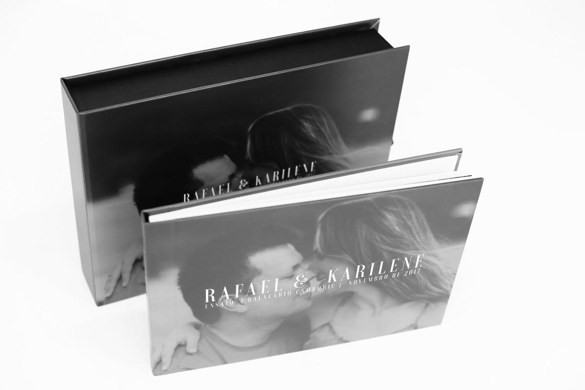 Imagem capa - Álbum do ensaio pré-casamento << Kari e Rafa >> Joinville / Balneário Camboriú por Daisy Evaristo
