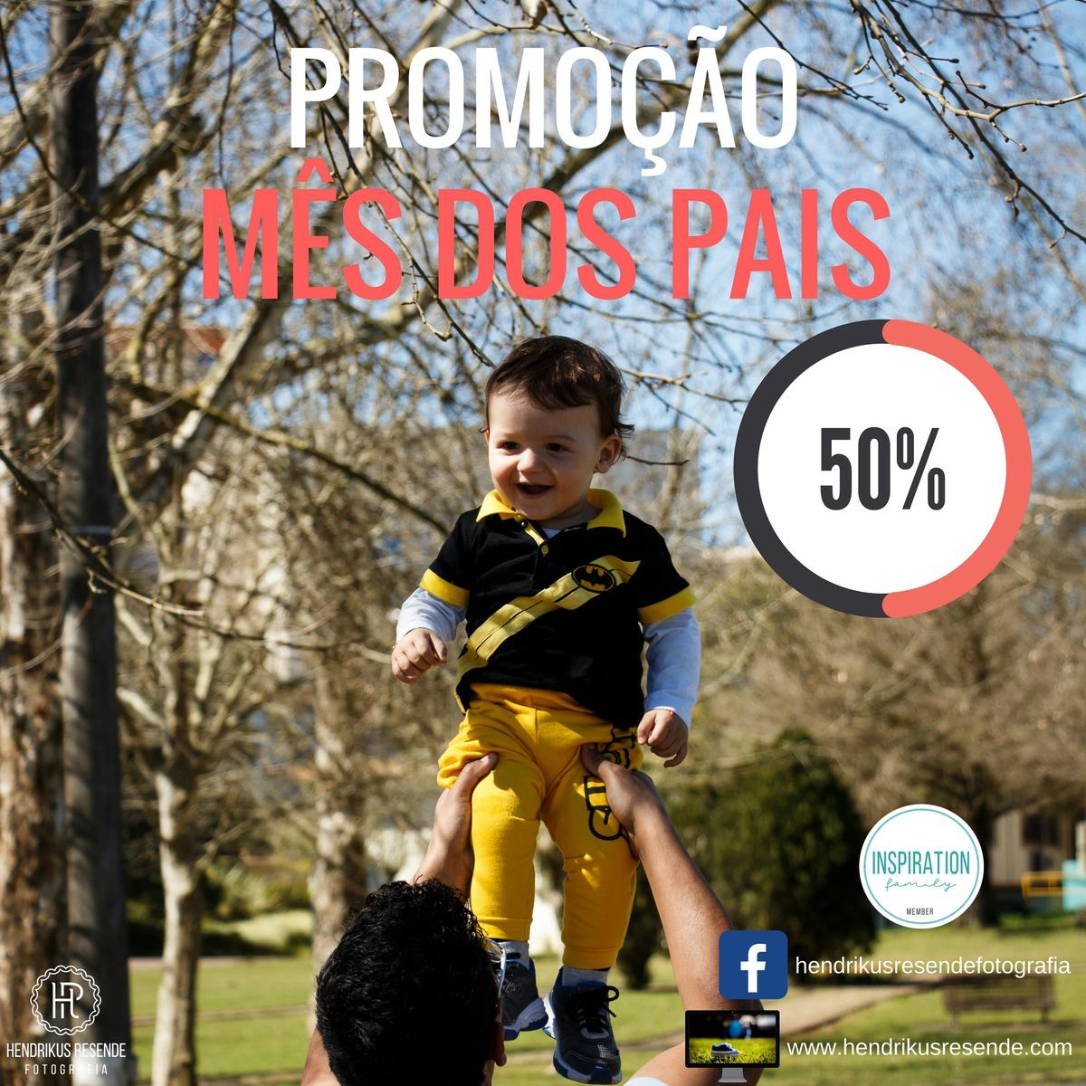 Imagem capa - Ensaio Dia dos Pais por Hendrikus Resende