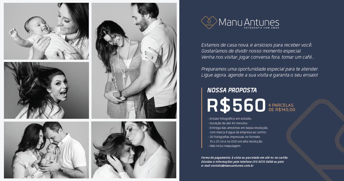 Imagem capa - Oportunidade para você! por Manu Antunes | Fotografia com Amor