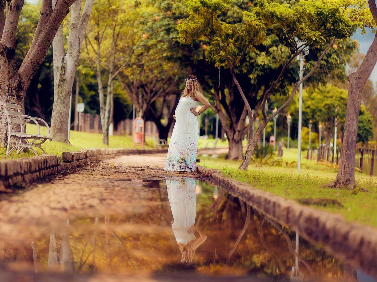 Imagem capa - Ensaio fotográfico gestante em Holambra : Jéssica Soares por Wellington Arruda