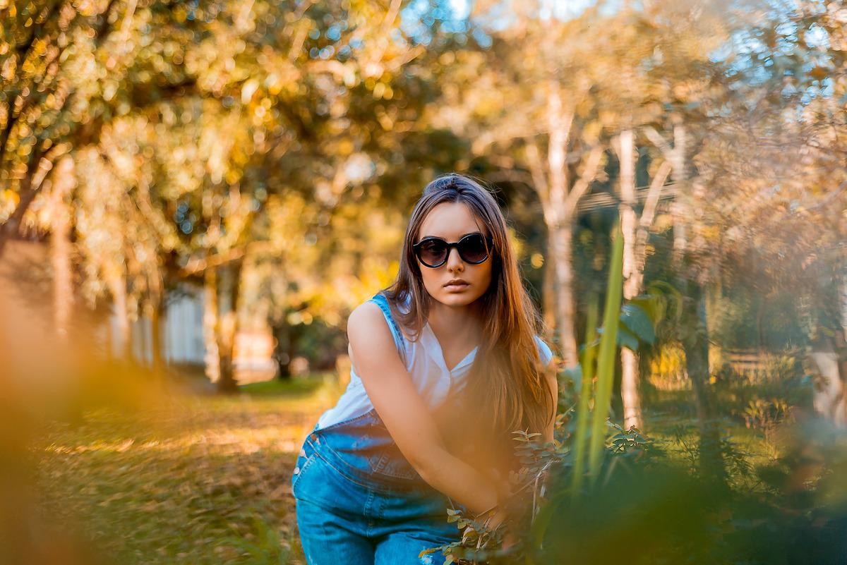Imagem capa - Ensaio Fotográfico Feminino no Horto Florestal em Rio Claro: Heloisa Massari por Wellington Arruda