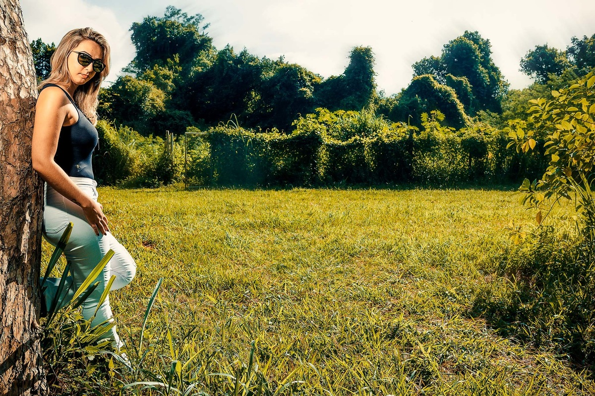 Imagem capa - Ensaio Fotografico Feminino no Horto Florestal de Limeira: Mirele Stradiotto por Wellington Arruda