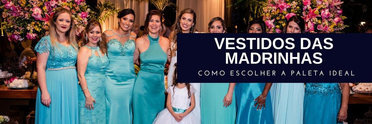 Imagem capa - Vestidos das madrinhas: como escolher a paleta ideal? por Ricardo Clavello