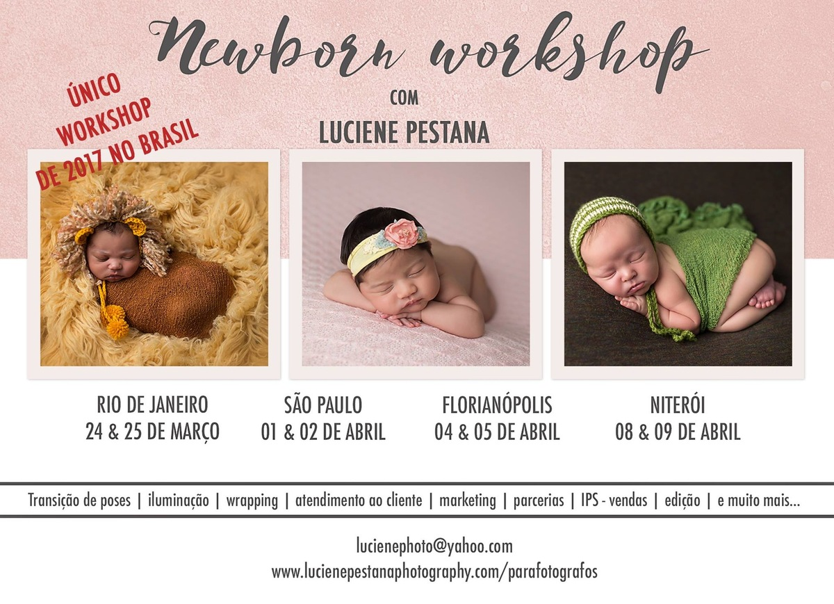 Imagem capa - Newborn Workshop com Luciene Pestana por Mell Caetano