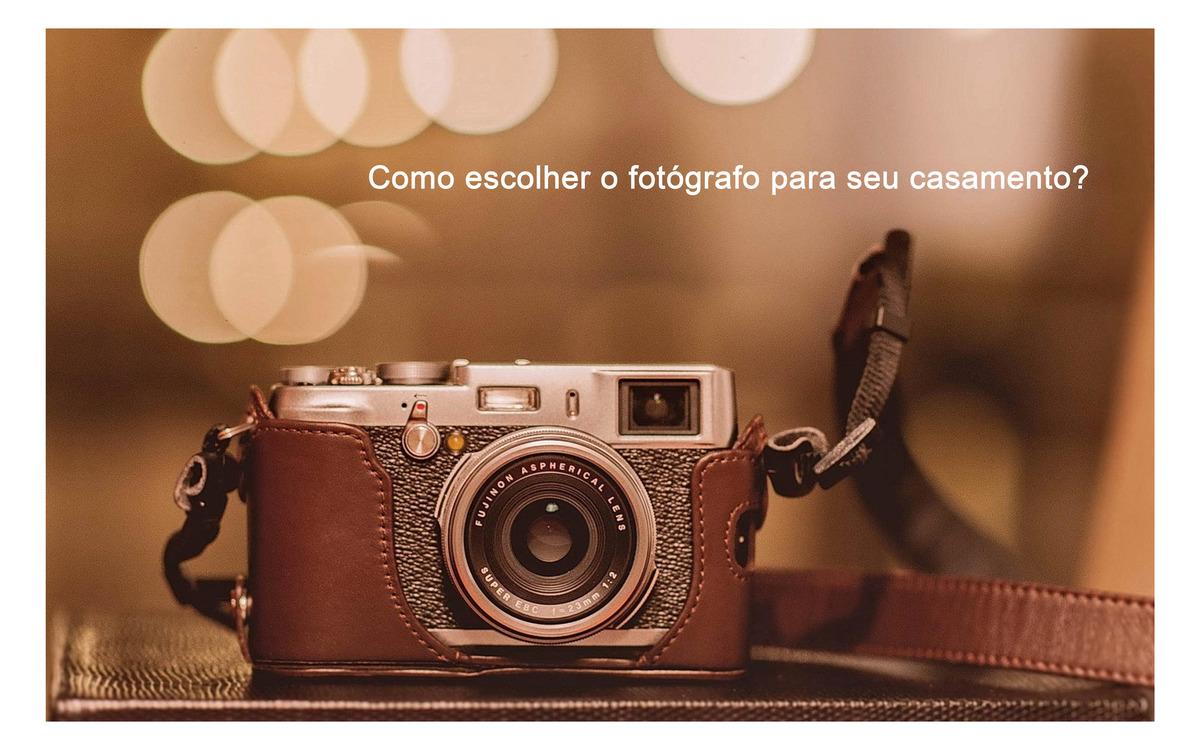 Imagem capa - Não erre: Aprenda a escolher o fotógrafo ideal! por Edson de Araujo Morim