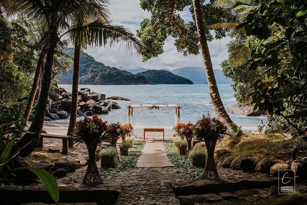 Destination Wedding Ubatuba - Praia do Félix