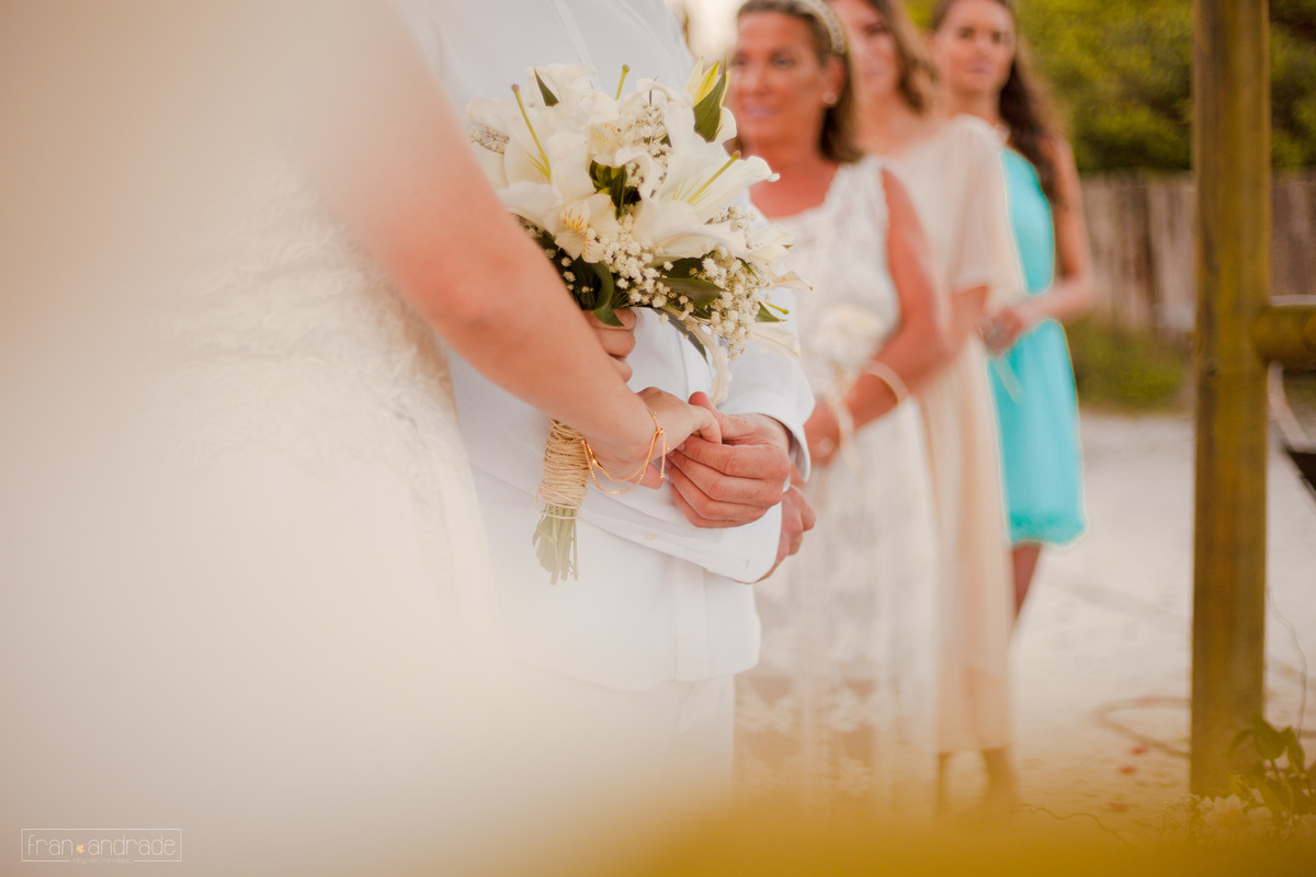 Imagem capa - A celebração do casamento por Fran Andrade Fotografia