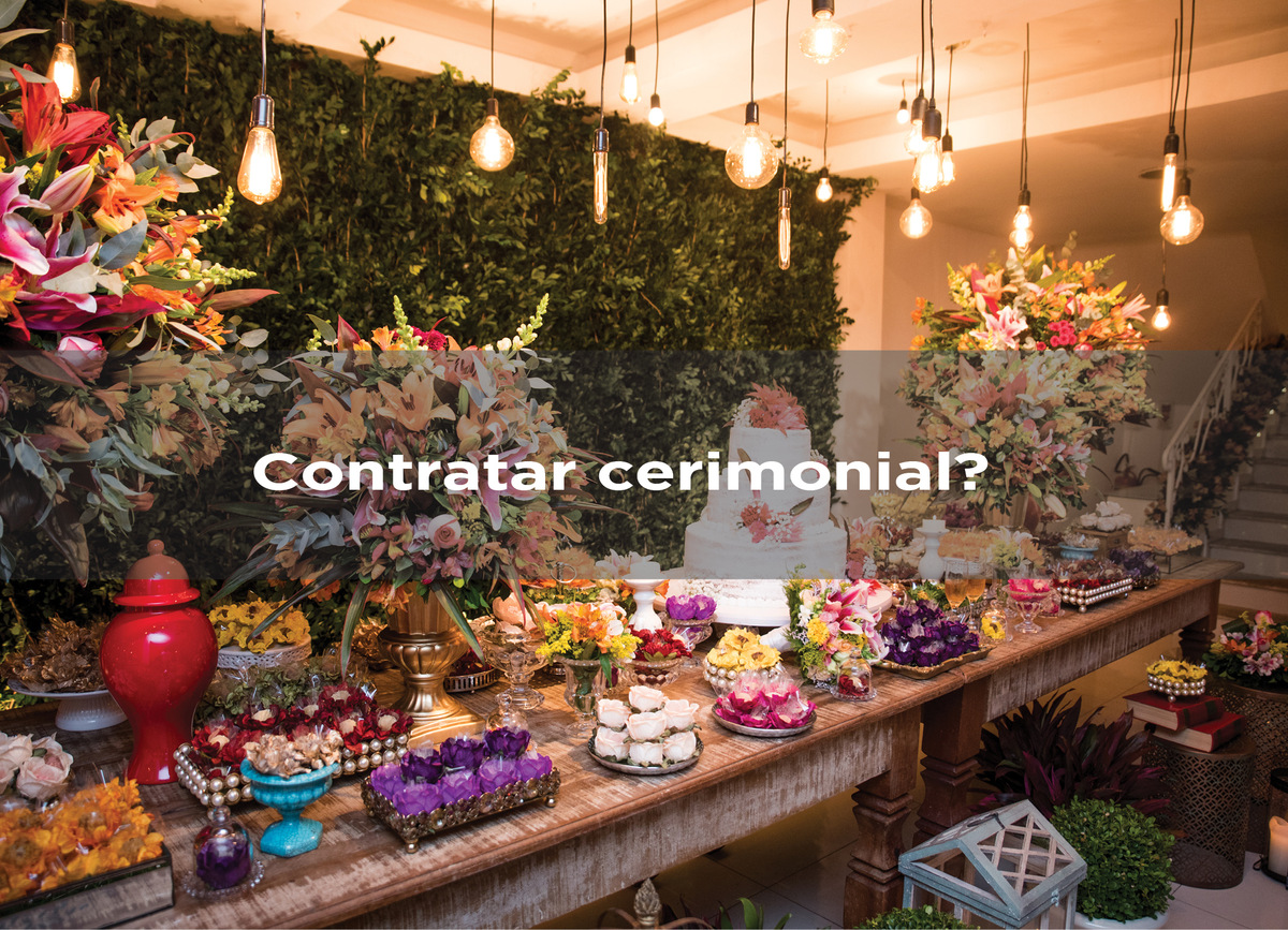 Imagem capa - Contratar Cerimonial? por Gustavo Medeiros