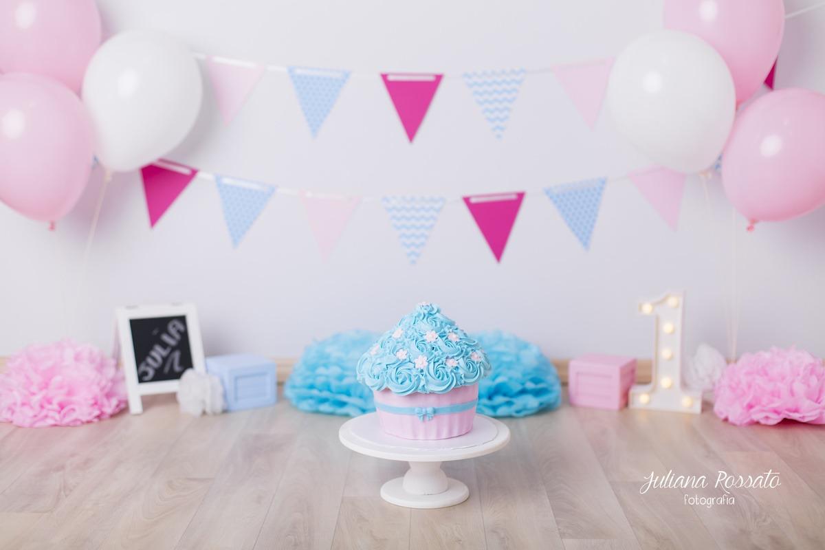 Smash The Cake, SP, Smash The Fruit, rosa e azul