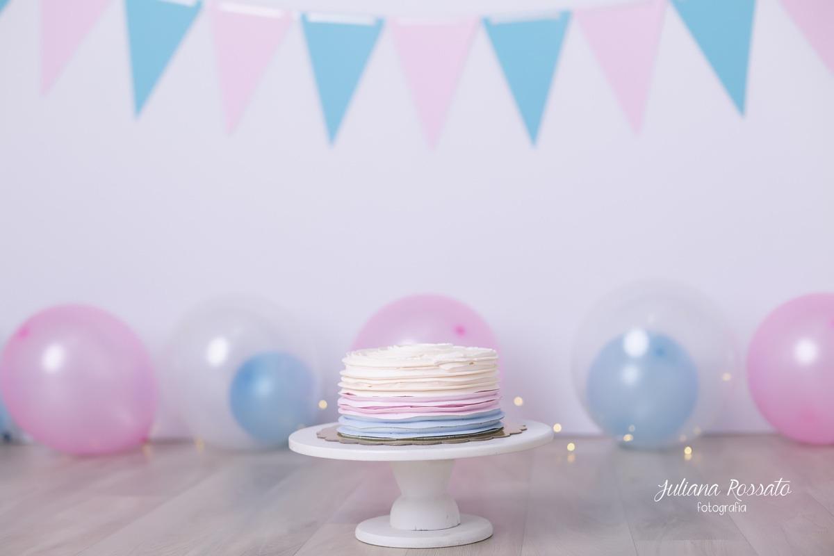 Smash The Cake, SP, Smash The Fruit, azul e rosa