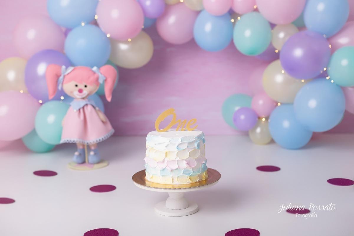 arco desconstruído Smash The Cake, SP, Smash The Fruit, arco desconstruído, circo rosa